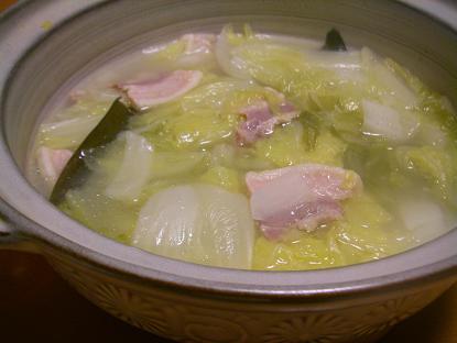 塩豚白菜鍋
