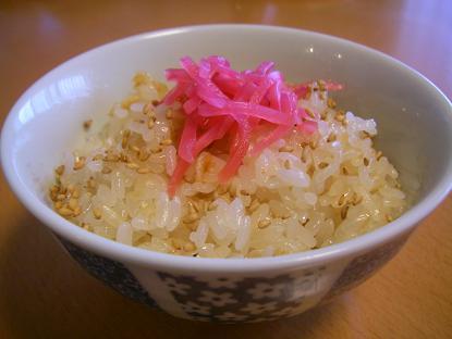 桜エビ炊き込みご飯2