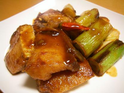 ぶり韓国煮