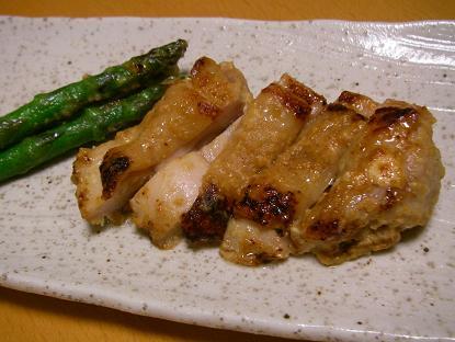 鶏かす味噌漬