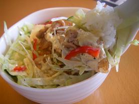 焼き肉サラダ丼2