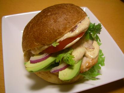 チリチキンバーガー