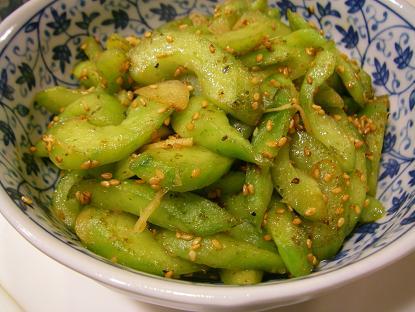 胡瓜煮ナムル