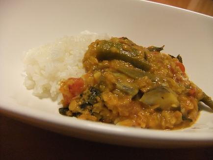 野菜豆カレー