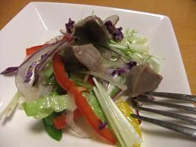 砂肝サラダ2