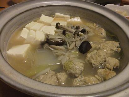 さんま団子鍋1