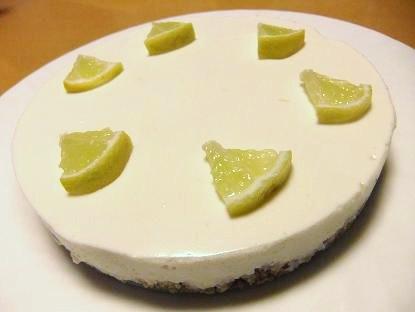 ヨーグルトライムケーキ