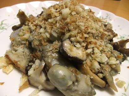 牡蠣ソテー2