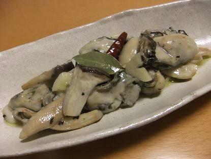 牡蠣オイルマリネ1