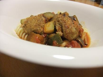 いわし団子トマト煮3
