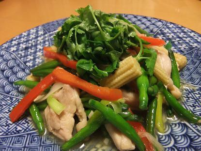 金針菜炒め