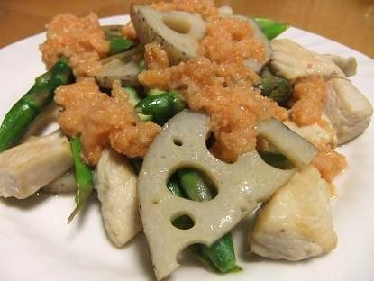 にんじんドレ蒸し野菜