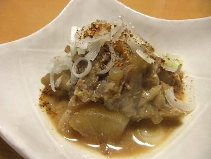 豚軟骨味噌煮1