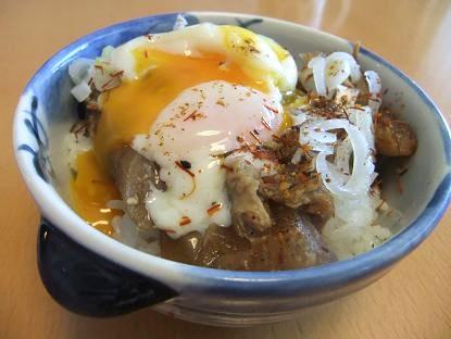 豚軟骨味噌丼2