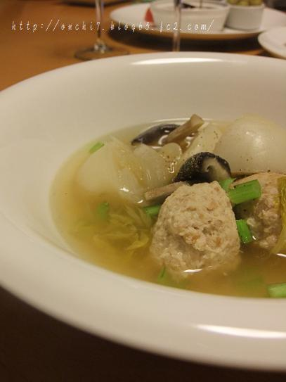かぶと肉団子のスープ
