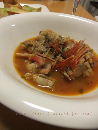 金目鯛トマトスープ