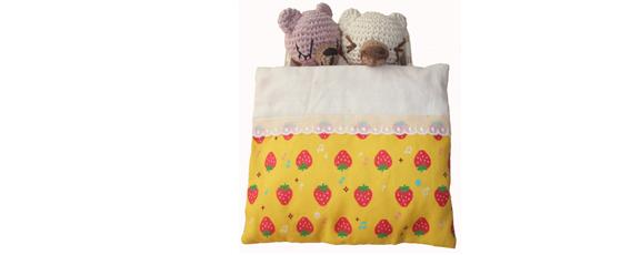 mamas charity3~2011.10.1~ほっとままごと寝ている編みぐるみブログ用