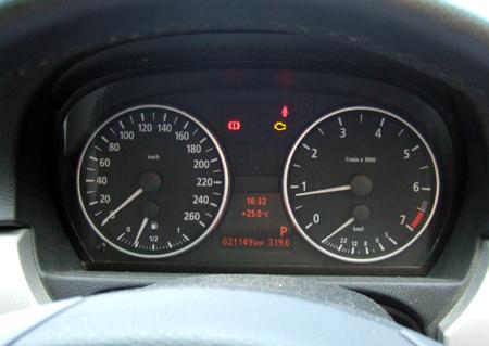 BMWメーター