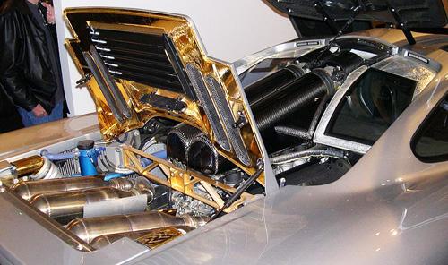 マクラーレンF1 エンジンルーム