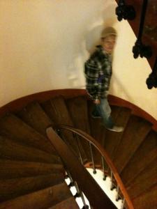 オペラ らせん階段