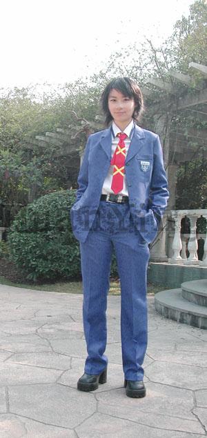 #36745;日南高中男生秋冬制服正面 拷#36125;