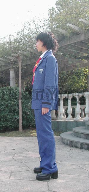 #36745;日南高中男生秋冬制服#20391;面 拷#36125;