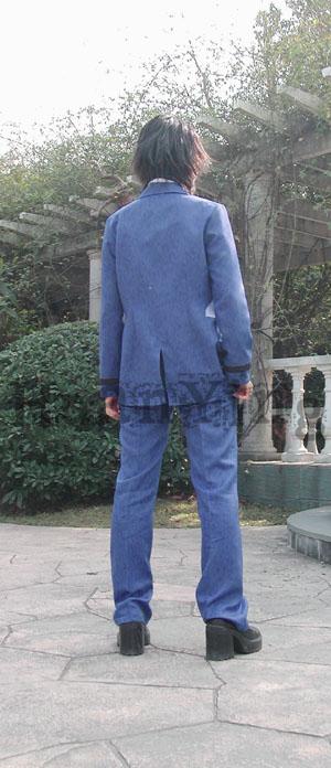 #36745;日南高中男生秋冬制服背面 拷#36125;
