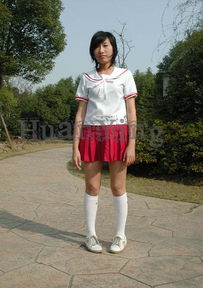 みなみけ南夏奈夏季制服正面 拷#36125;