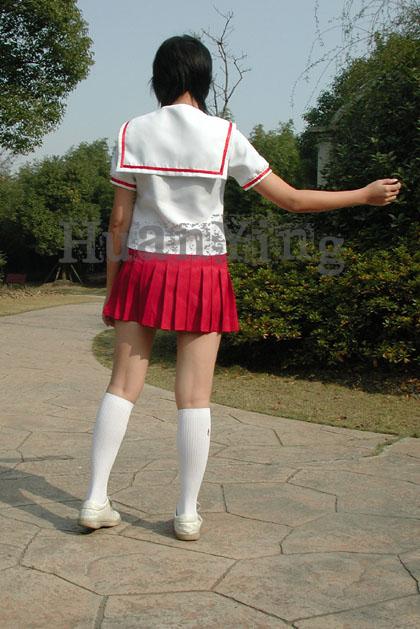 みなみけ南夏奈夏季制服背面 拷#36125;