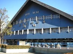 3月いっぱいで取り壊しが決まっている大田区体育館。