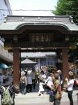 この街のランドマーク・とげぬき地蔵こと高岩寺。