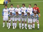 仙台のスターティングイレブン。昨年まで湘南にいた白井、額広い…。