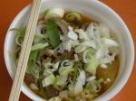 「鄭大世のお母さんの韓国料理」屋台で人気があった、牛すじの韓国風煮込み。