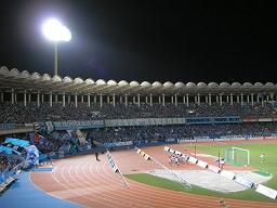 久しぶりに等々力でサッカーを見た。やっぱり川崎フロンターレの会場の雰囲気はいい。