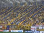 ユアテックスタジアムでJ2仙台-福岡戦を開催。ベガルタ仙台のサポで埋まったスタンド。