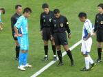 主将として横浜FCを引っ張ってきた城。その勇姿もあと2試合…。