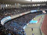 入場者数、23,113人はホーム開幕戦の浦和戦に迫る大観衆。S席も含めぎっしり。