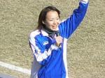 佐川大阪にはスタジアムDJの女の子がいる。来年以降どうなるのかな?