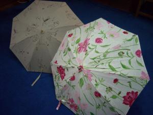 リネン日傘