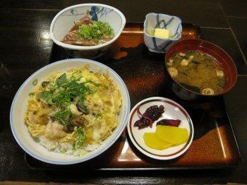 うつぼ丼定食