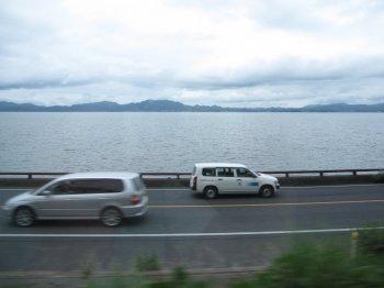 車窓宍道湖