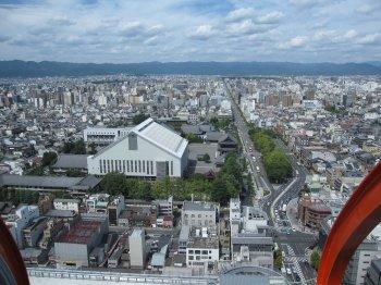京都タワー展望1
