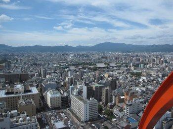 京都タワー展望2