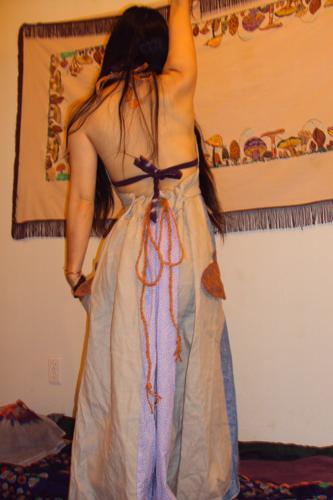 th_acorn pocketドレス来た感じ2