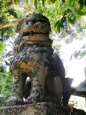 田島神社横竹90