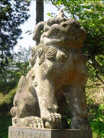 老松神社土居2
