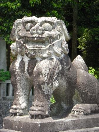 若八幡神社夏1