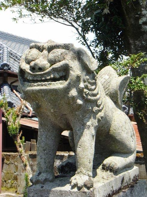 八坂神社玖珠1