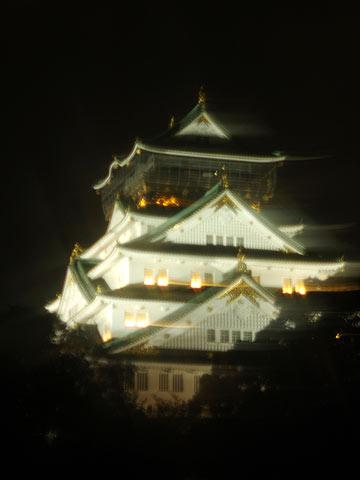 大阪城夜景