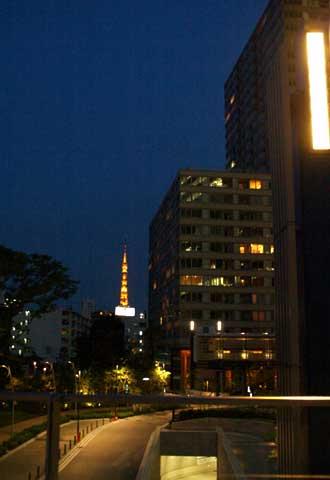 アッ 東京タワーだ